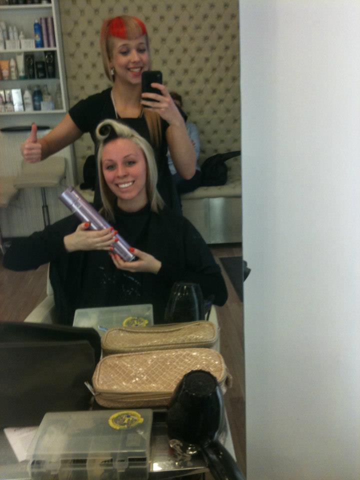 Készülő frizura